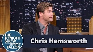 Chris and Liam Hemsworth Doodle on Each Other