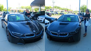 I BOUGHT MY MOM A BMW i8!?