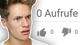 YouTube Videos mit 0 AUFRUFEN 😱😂
