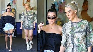 Kim Kardashian Goes On A Shopping Spree For Baby No. 3 With Kourtney