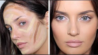 Updated Contouring/Highlight Routine: Very Full Coverage Makeup!