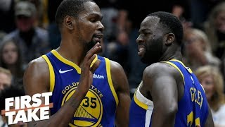 Draymond Green, Kevin Durant heated exchange not a bad thing - Max Kellerman   First Take