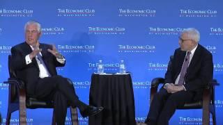 Rex W. Tillerson, Chairman and CEO, Exxon Mobil Corporation