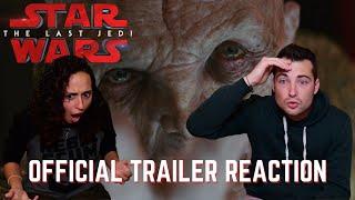 Star Wars: The Last Jedi Trailer 2 REACTIONS!