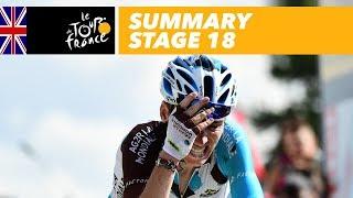Summary - Stage 18 - Tour de France 2017