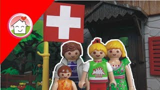 Playmobil Film deutsch Familie Hauser in der Schweiz / Kinderfilm / Kinderserie von family stories