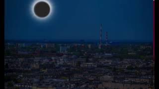 Zaćmienie słońca w Łodzi