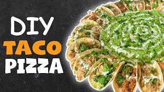 DIY TACO PIZZA 🌮🍕
