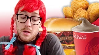 I Only Ate At Wendy