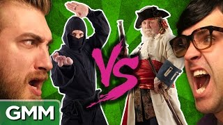 Pirates vs. Ninjas: Debate-O-Rama