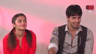 """Sidharth Malhotra says, """"I like Alia Bhatt because....."""""""