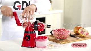 GDL-Golden Light-manual juicer & mincer PS-308H-Meat grinder & hand juicer