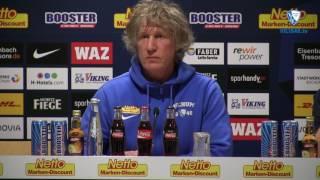 Die Pressekonferenz vor der Partie TSV 1860 München - VfL Bochum 1848