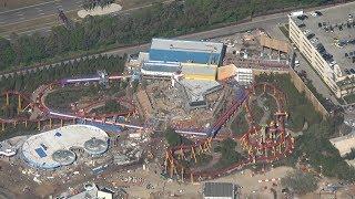 Flying a Plane Over Walt Disney World | Aerial Construction Updates & World