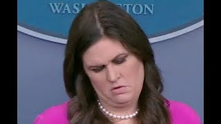 """HOW IS IT NOT COLLUSION??!!"" Reporters CONFRONT Sarah Huckabee Sanders on the Trump-Russia Arrests"