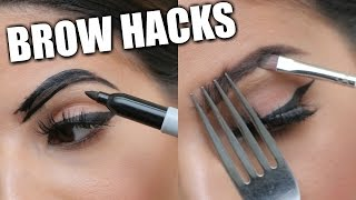 EYEBROW HACKS That Everyone Should Know!