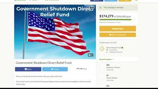 Go Fund Me helping workers during government shutdown