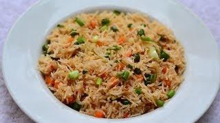 Veg Fried Rice Recipe @ Guru