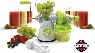 Manual Juicer 2014 — Norpro 5019