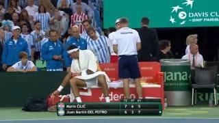 Highlights: Marin Cilic (CRO) v Juan Martin del Potro (ARG)