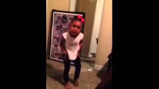 Little girl fussing at her brother