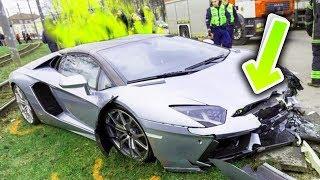 Die DÜMMSTEN Lamborghini Unfälle