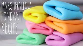 How To Make Marshmallow Fondant - Baking Basics