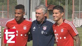 FC Bayern: James Rodríguez beim ersten Training an der Säbener Straße
