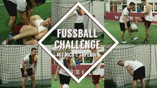 FUSSBALL CHALLENGE MIT INSCOPE UND SHPENDI + BESTRAFUNG!