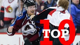 Top Ten NHL Hockey Fights of March 2017