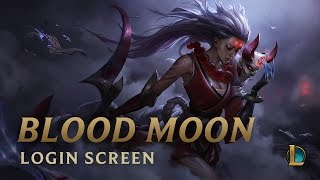 Blood Moon Diana | Login Screen - League of Legends