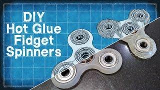 DIY Hot Glue Fidget Spinner - DIY with Cly Ep. 4