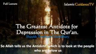 The Greatest Antidote to Depression in Qur