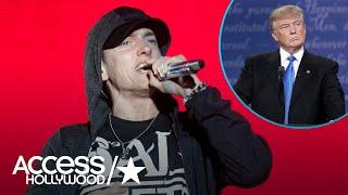 Eminem Blasts President Donald Trump In Epic Freestyle Rap