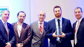 Sami Zayn is honored by the Syrian American Medical Society