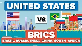 USA vs BRICS (Brazil, Russia, India, China & South Africa) 2017- Who Would Win?