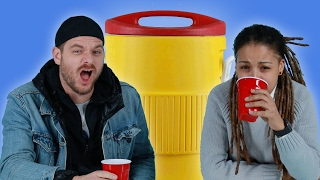 Adults Drink Jungle Juice For The First Time Since College