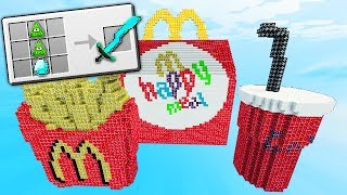 SUPER MCDONALDS HAPPY MEAL LUCKY BLOCKS BATTLE