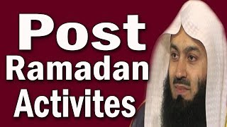 Tips For Upholding The Spirit of Ramadan Throughout The Year   Mufti Menk
