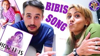 BIBIS SONG How it is - UNSERE REAKTION Daily Vlog #82 Our life FAMILY FUN