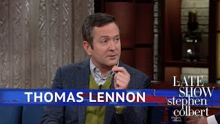 Thomas Lennon Saved A Squirrel