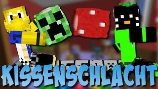 KISSENSCHLACHT in Minecraft (Mini-Spiel) [Deutsch]