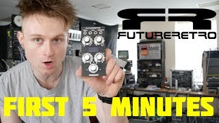 FIVE MINUTES WITH THE FUTURE RETRO TRANSIENT