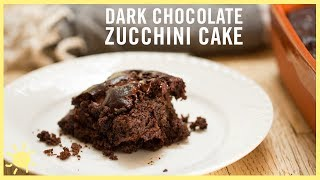 EAT | Double Chocolate Zucchini Cake (Gluten and Dairy Free!)