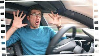 Fahren mit AUTOPILOT: Gruselig und geil!
