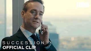 'You're on Speakerphone!' Ep. 5 Official Clip | Succession | HBO
