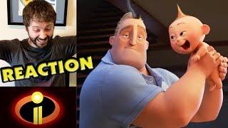 INCREDIBLES 2 Official Teaser Trailer REACTION