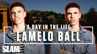 LaMelo Ball Is Paving His Own Wave 🌊 LEAGUE HIM   SLAM Day in the Life