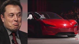 Von 0 auf 100 in 1,9 Sekunden! Elon Musk überrascht die Welt mit dem neuen Roadster!