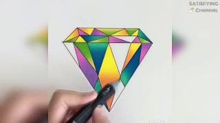 The Most Oddly Satisfying Art Video In The World!